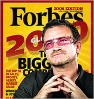 Bono and his Elevation Partners invests in Forbes